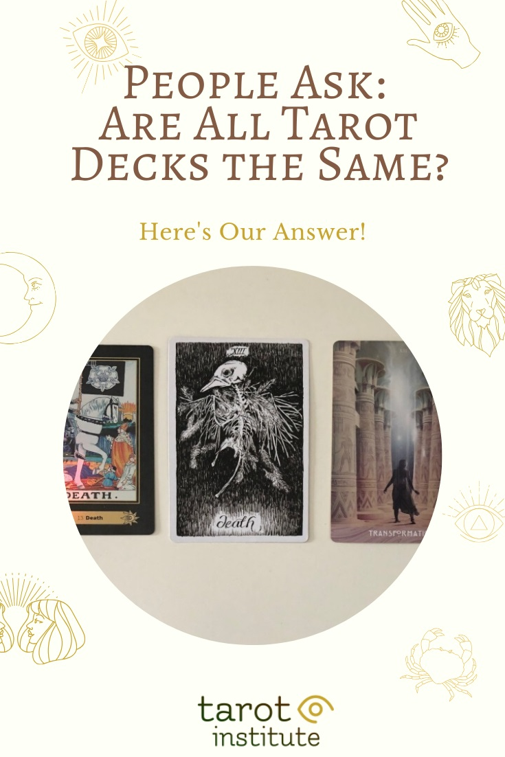 Are All Tarot Decks the Same by Tarot Institute
