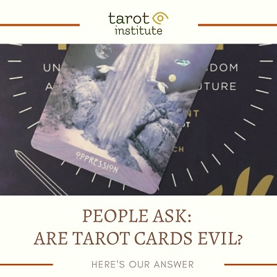 Are Tarot Cards Evil featured