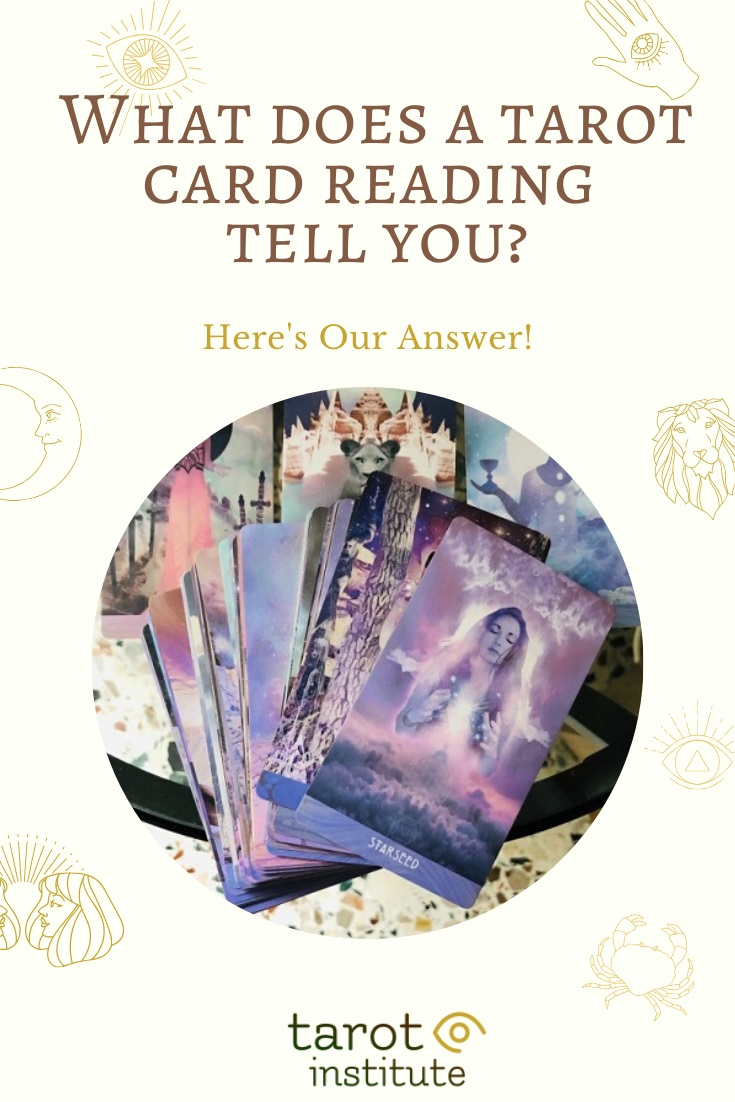 What does a tarot card reading tell you by Tarot Institute