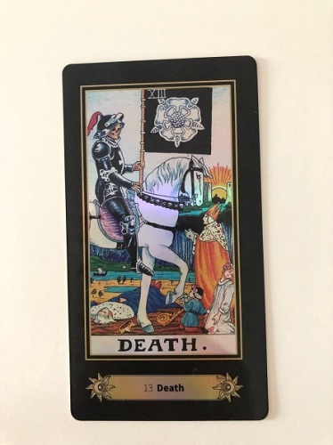 death tarot card