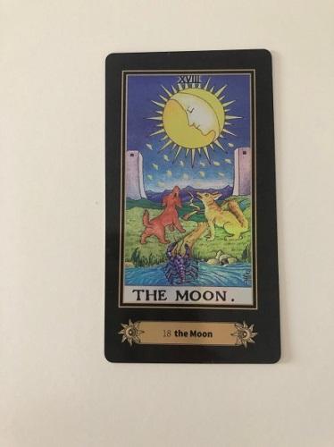 moon tarot card