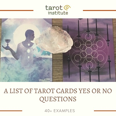 A List of Tarot Cards Yes or No Questions featured