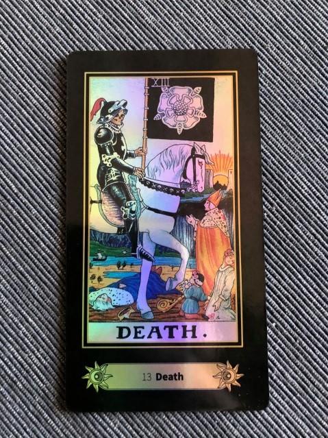 death representing scorpio