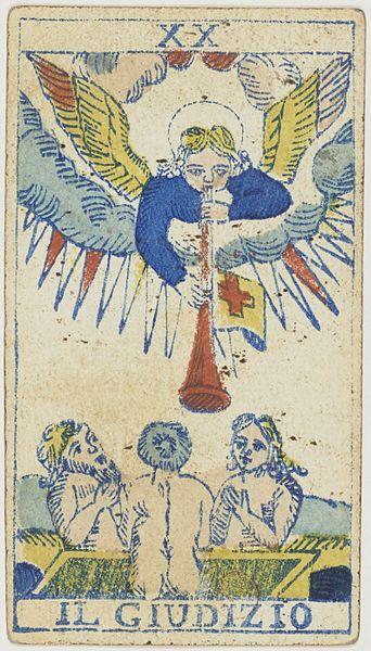 Piedmontese tarot deck, F. F. Solesio, 1865