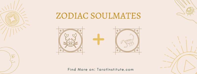Cancer and Scorpio soulmates