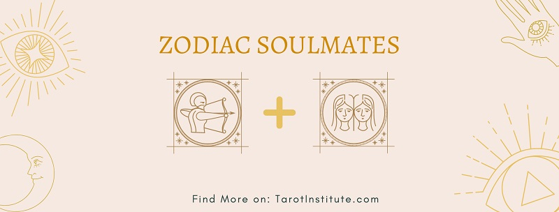 Sagittarius and Gemini soulmates