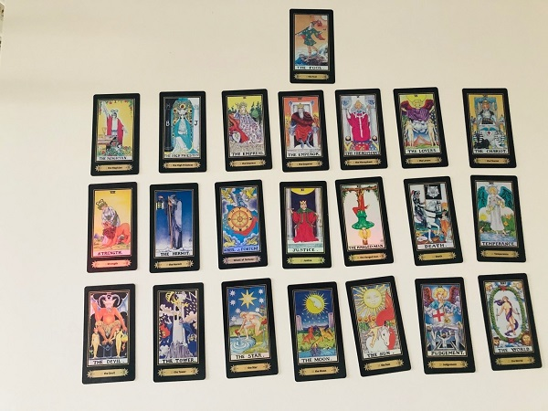 cards from my tarot deck