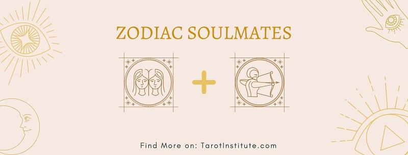 Gemini and Sagittarius soulmates