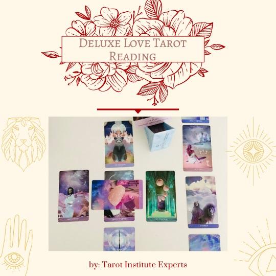 deluxe love tarot reading service by Tarot Institute