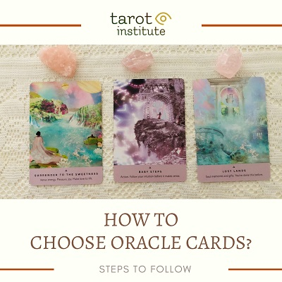 How to choose oracle cards featured