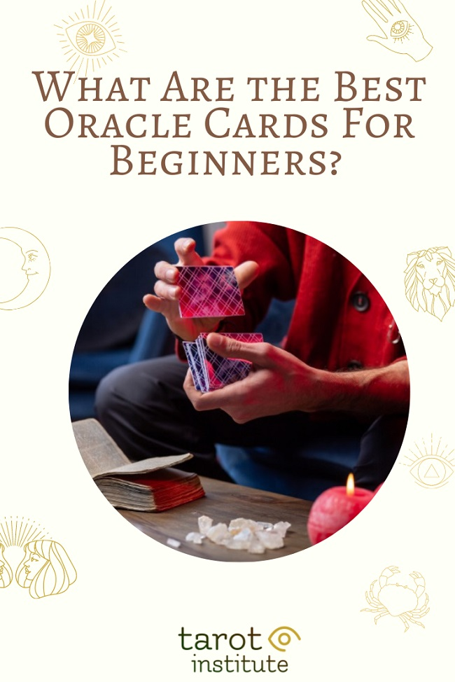 What Are the Best Oracle Cards For Beginners pin by tarotinstitute