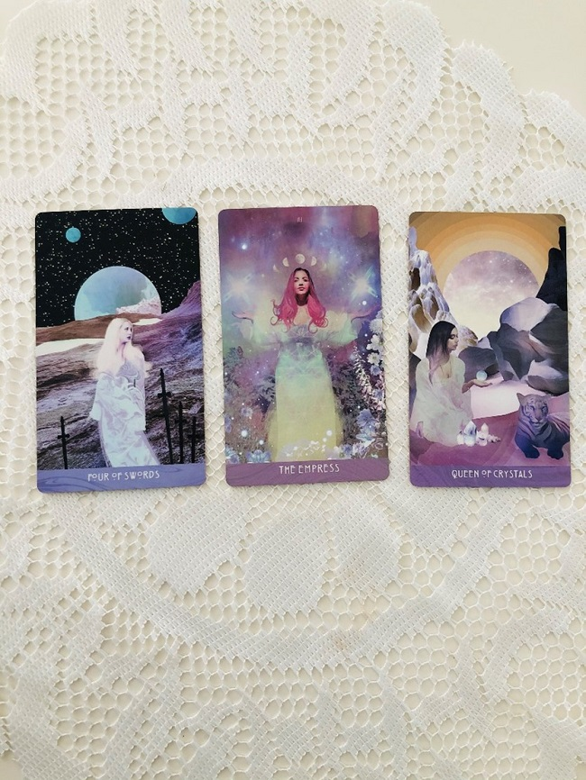 Beginers tarot spread 3