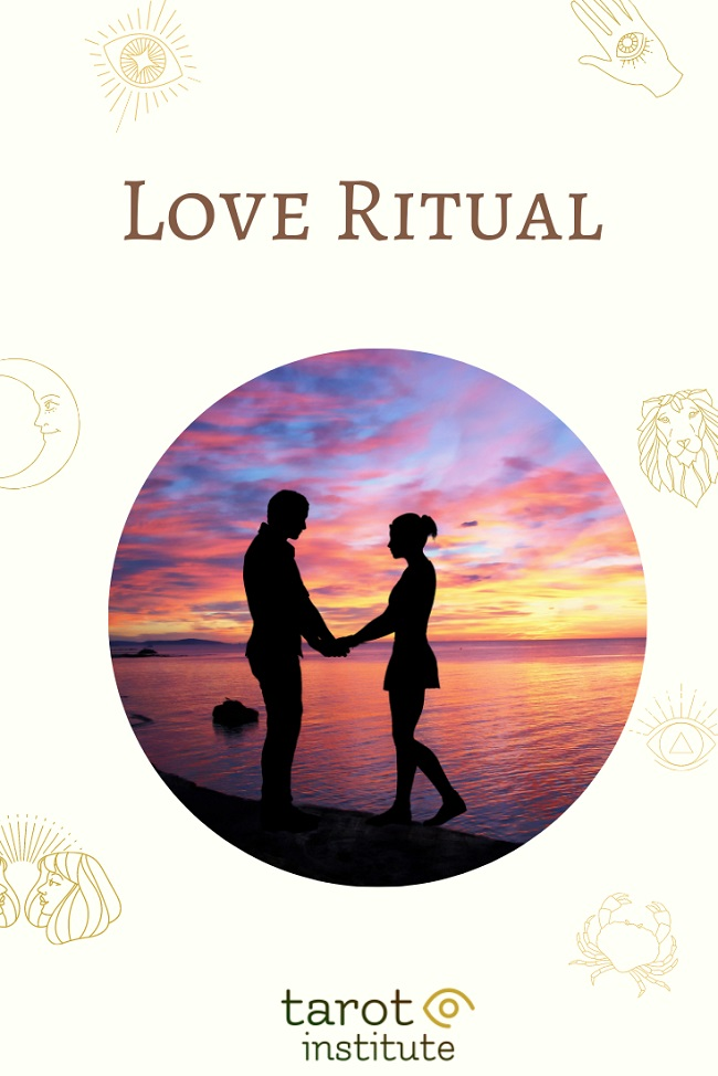 Love Ritual pin by tarotinstitute