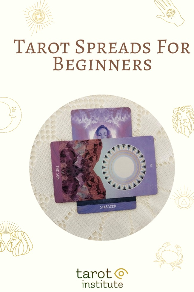 Tarot Spreads For Beginners pin by tarotinstitute