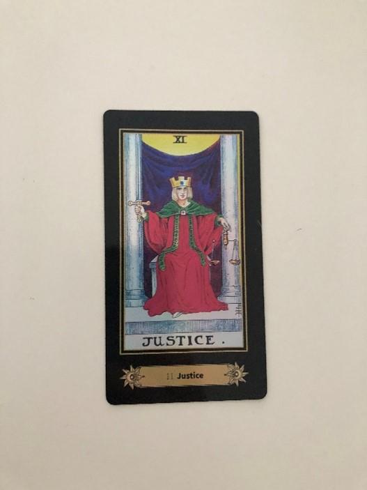 Tarot Card represent Libra