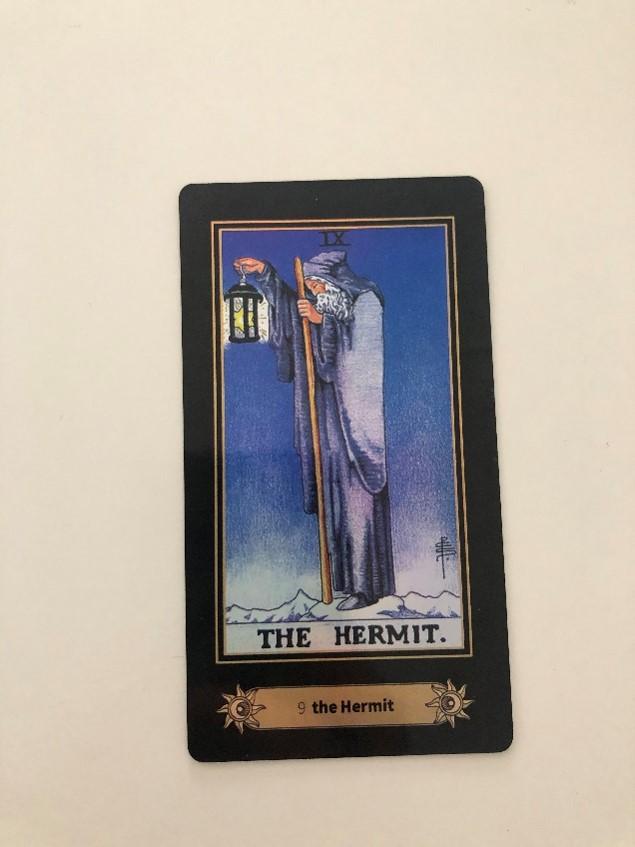 Tarot Card represents Virgo