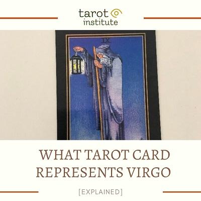 What Tarot Card represents Virgo featured