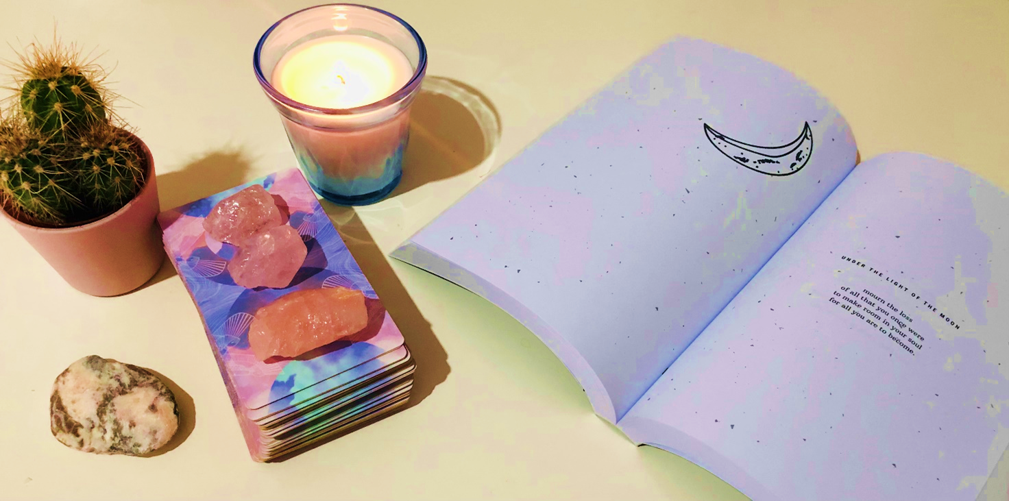 create a sacred space for your tarot readings